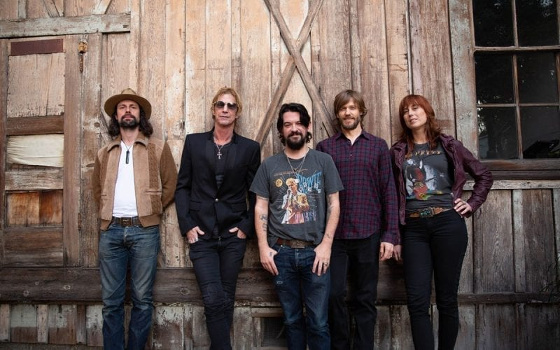 Duff McKagan and Shooter Jennings band