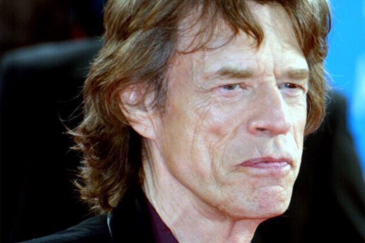 Mick Jagger in 2014