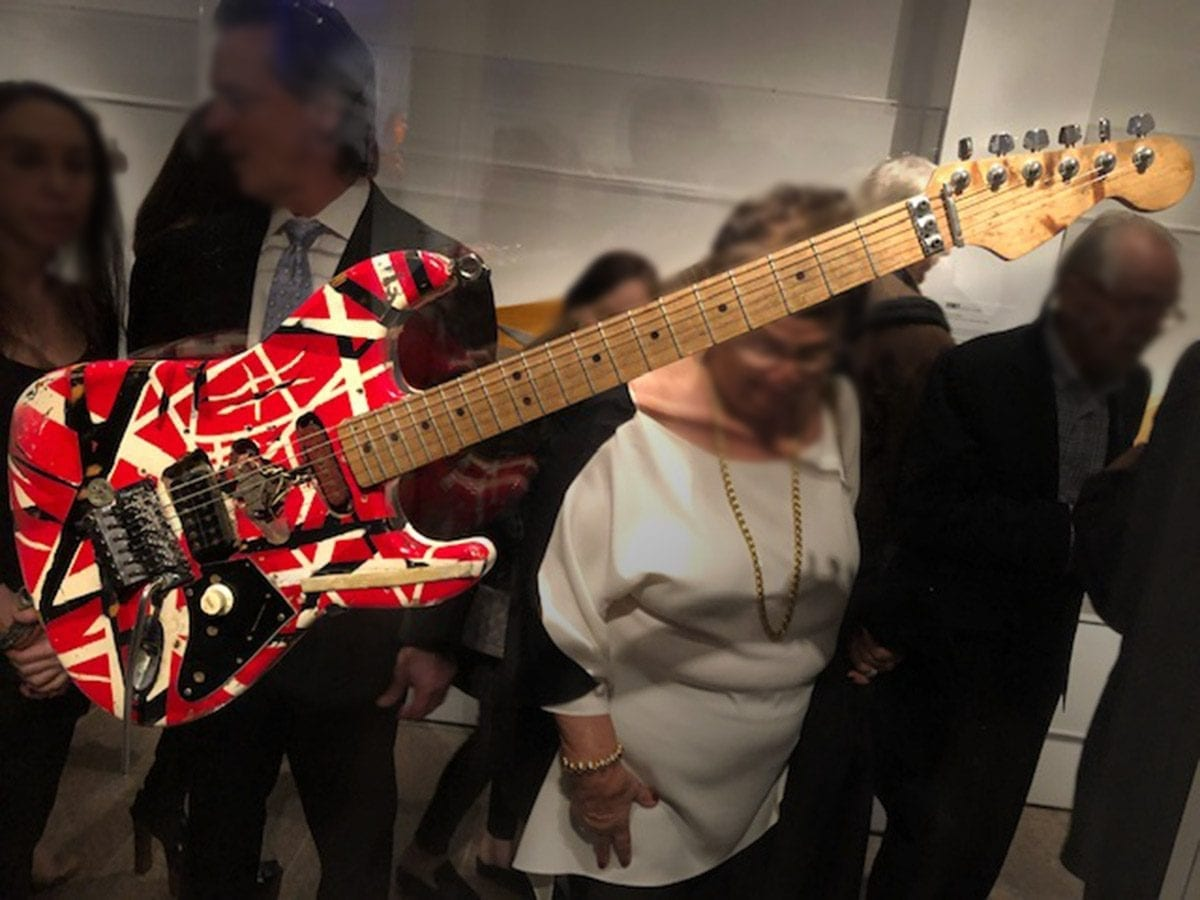 Eddie Van Halen's Frankenstein guitar