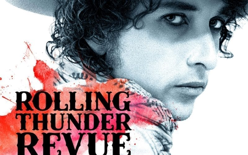 Rolling Thunder Revue: A Bob Dylan Story film poster crop