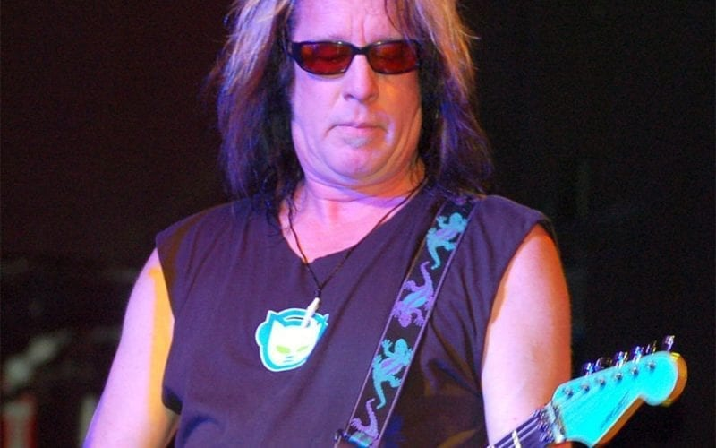 Todd Rundgren performing in 2009