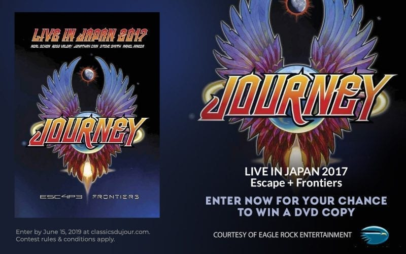 Journey Live in Japan sweepstakes
