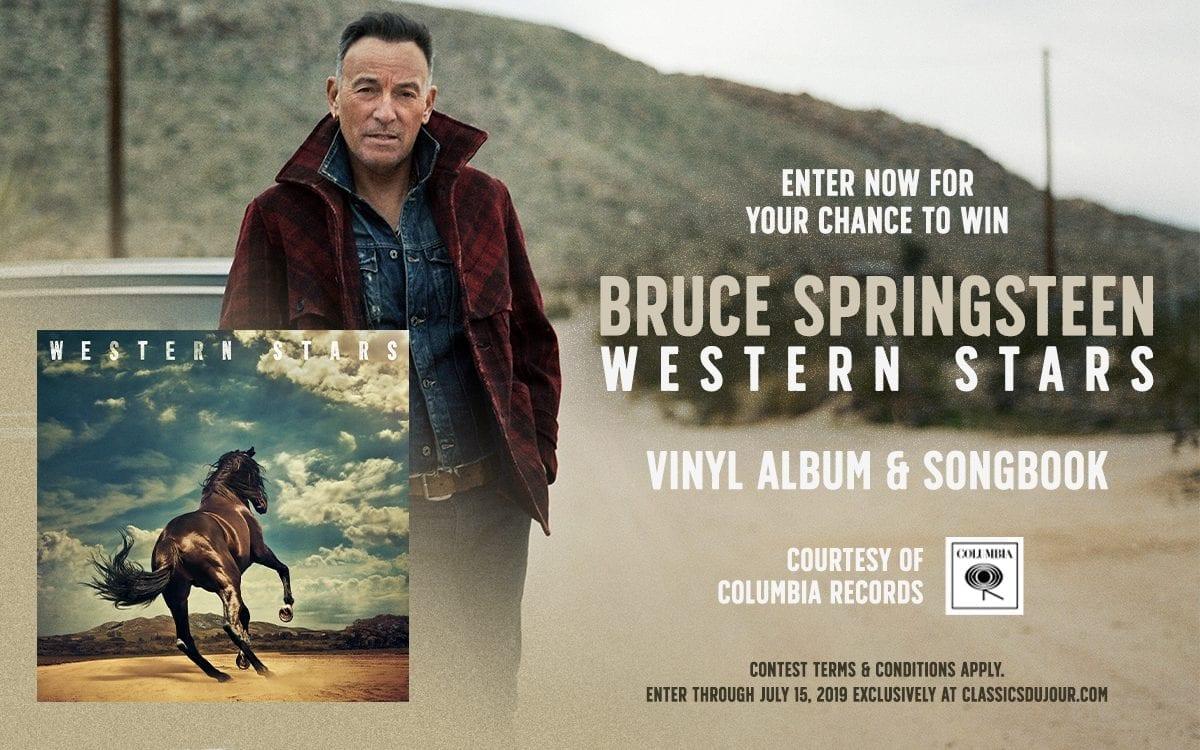 Bruce Springsteen Western Stars vinyl contest