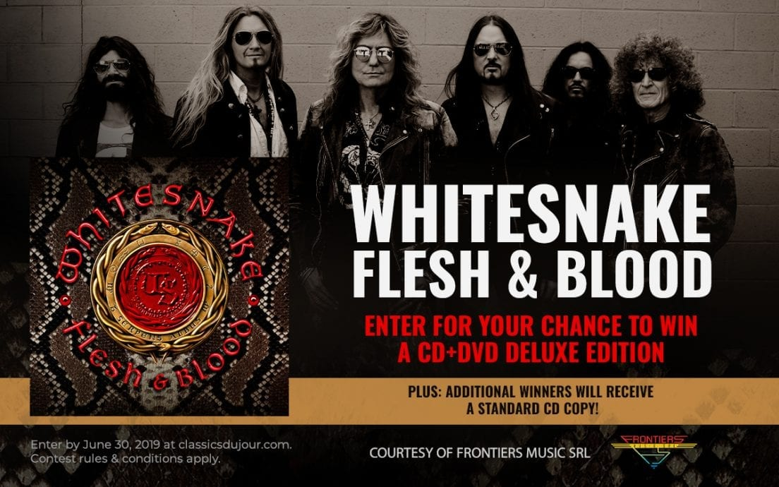 Whitesnake Flesh & Blood contest