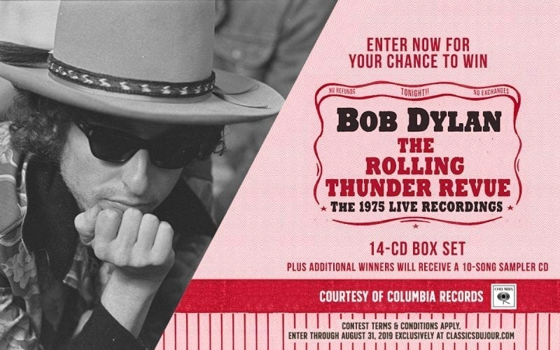 Bob Dylan The Rolling Thunder Revue The 1975 Live Recordings