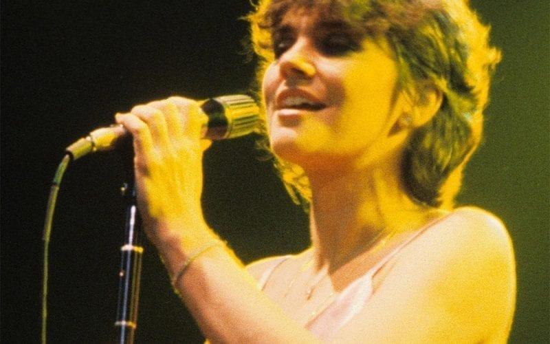 Linda Ronstadt performing in 1978