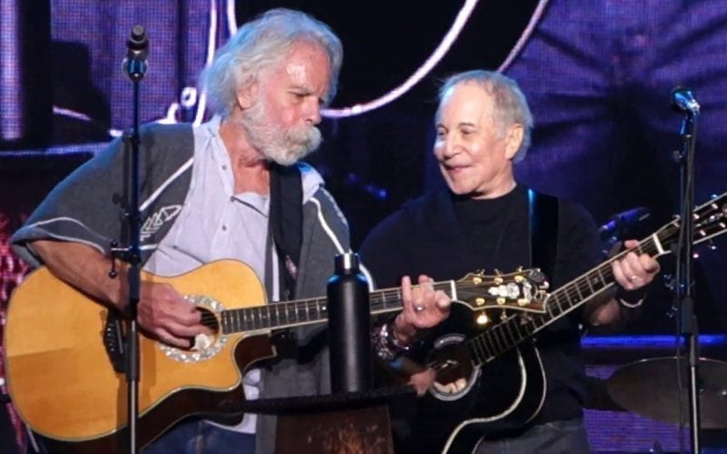 Bob Weir and Paul Simon