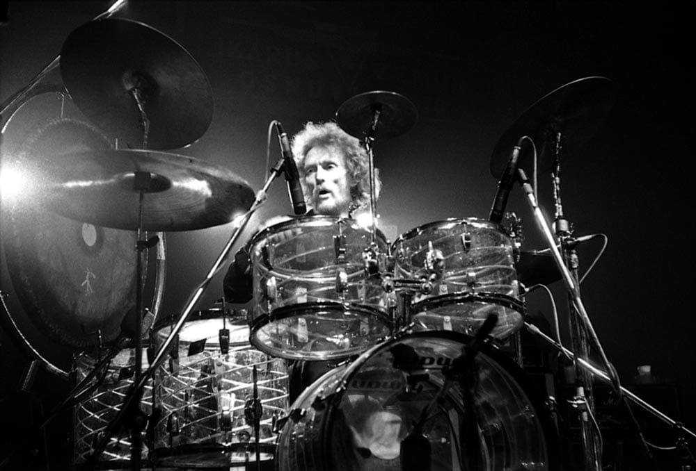 Ginger Baker in 1980