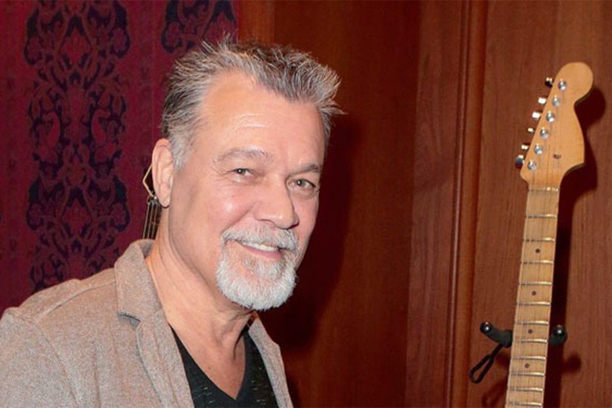 Guitarist Eddie Van Halen