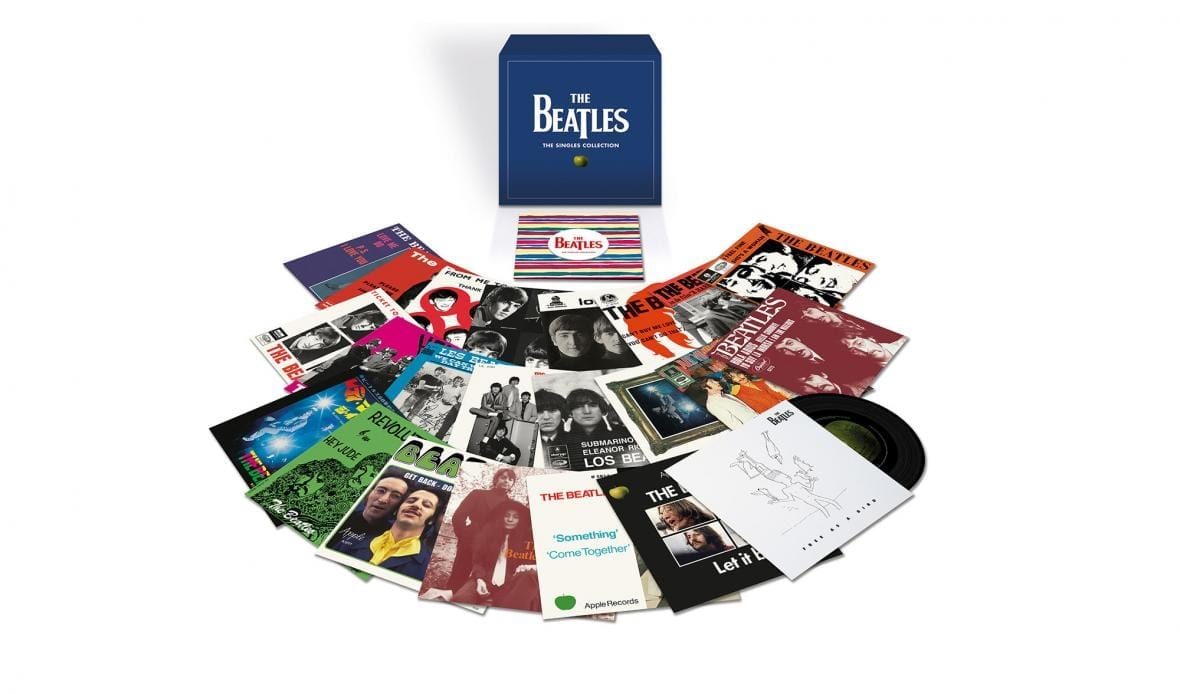 The Beatles Announce Limited-Edition Vinyl Box Set 'The Singles Collection'