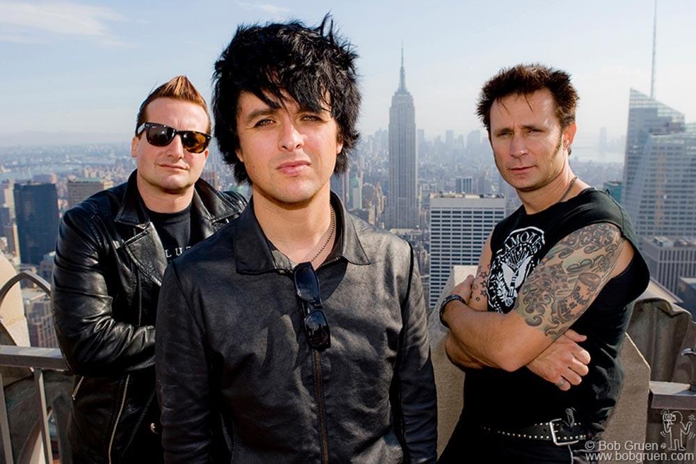 Green Day Bob Gruen