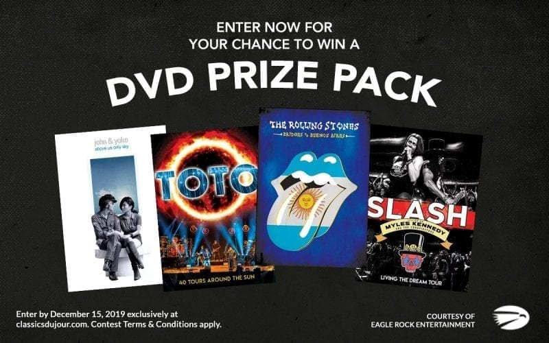 Classic Rock Prize Pack