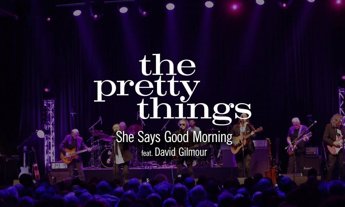 """Watch: David Gilmour Performs """"She Says Good Morning"""" with the Pretty Things"""