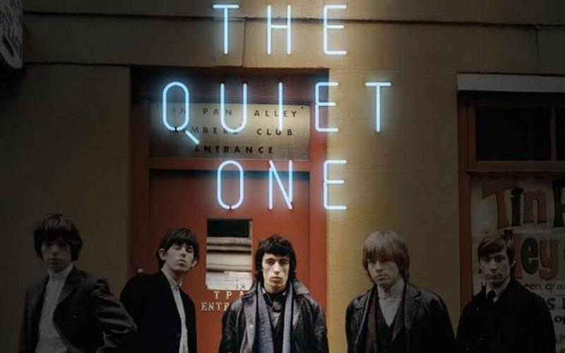Bill Wyman The Quiet One Poster crop