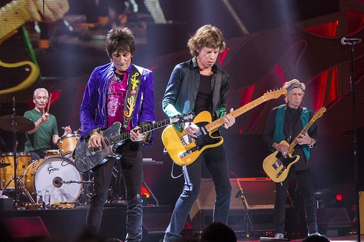 Rolling Stones in 2015