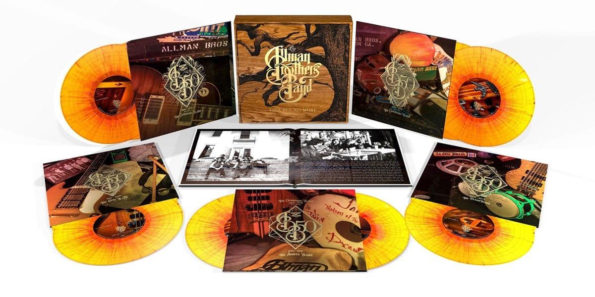 Allman Brothers Band Trouble No More Box Set