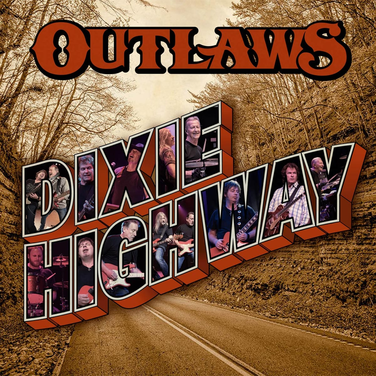 The Outlaws Dixie Highway album cover