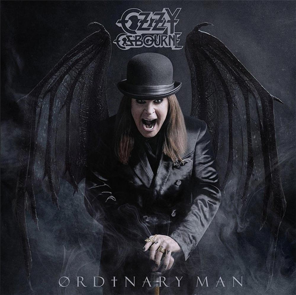 Ozzy Osbourne Ordinary Man album cover