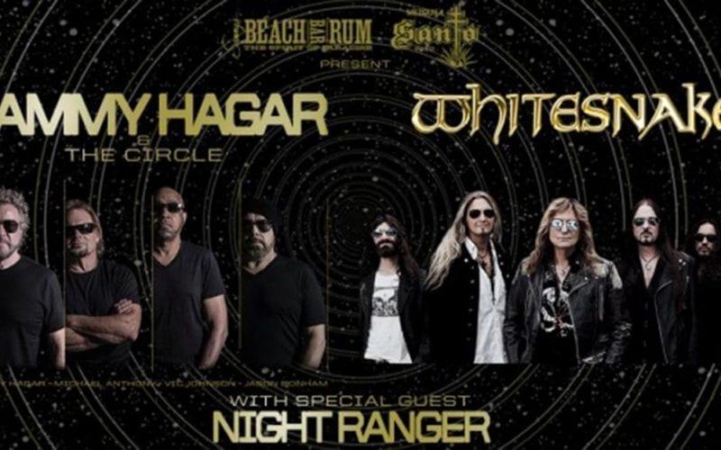 Sammy Hagar tour with Whitesnake and Night Ranger