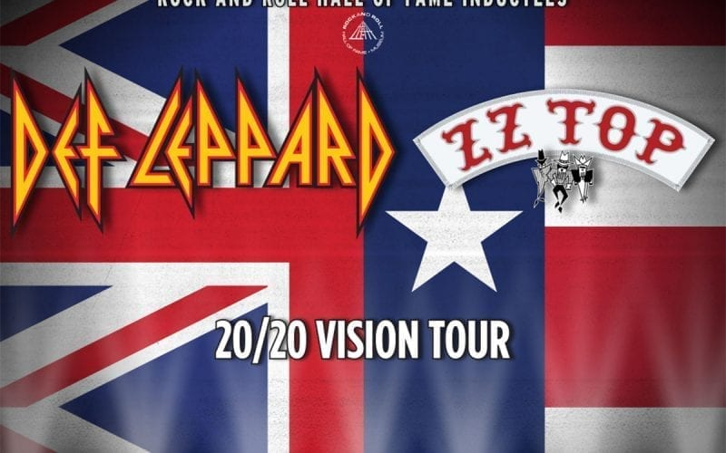 Def Leppard ZZ Top 2020 Tour