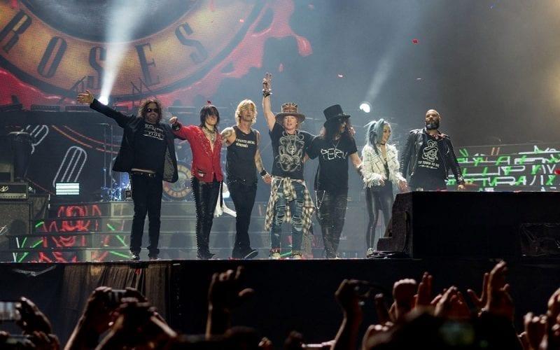 Guns N Roses at London Stadium in 2017