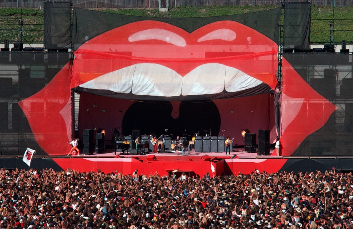 Rolling Stones set design Day on the Green 1978