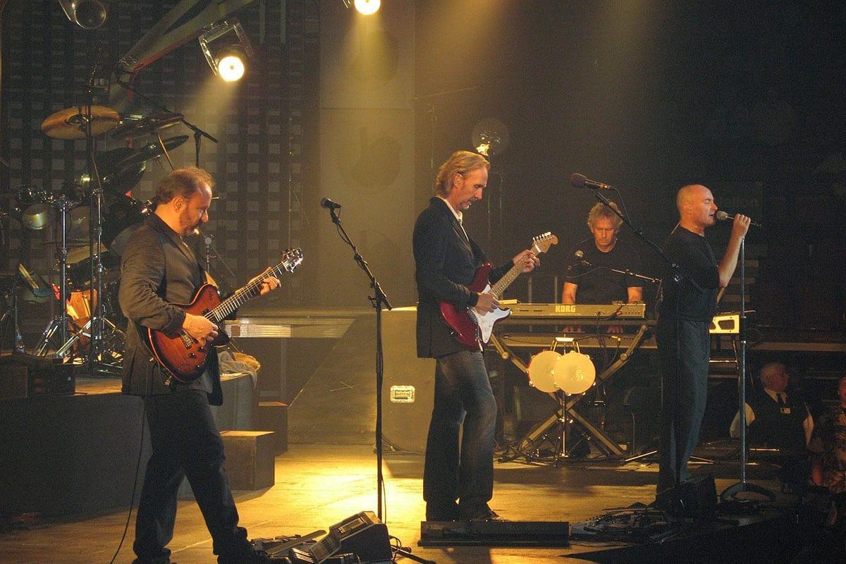 Genesis performing in 2007