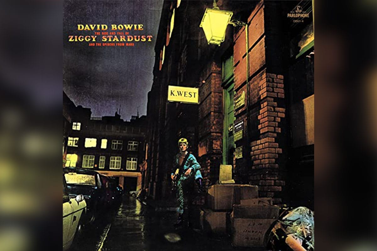 Ziggy Stardust album cover