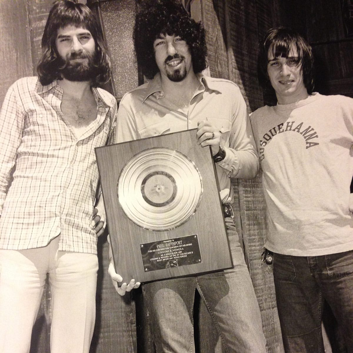 Loggins and Messina Gold Record