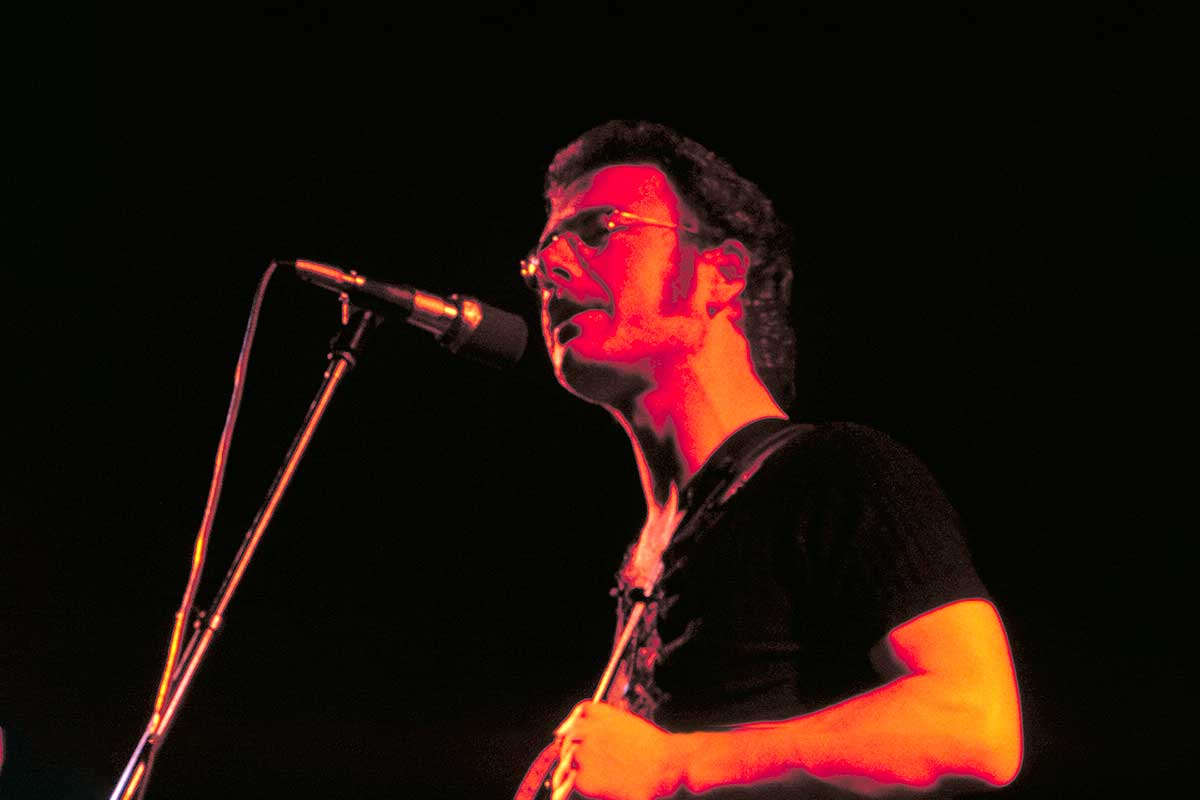 Robert Fripp of King Crimson