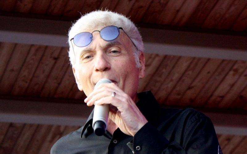 Dennis DeYoung performing in 2010