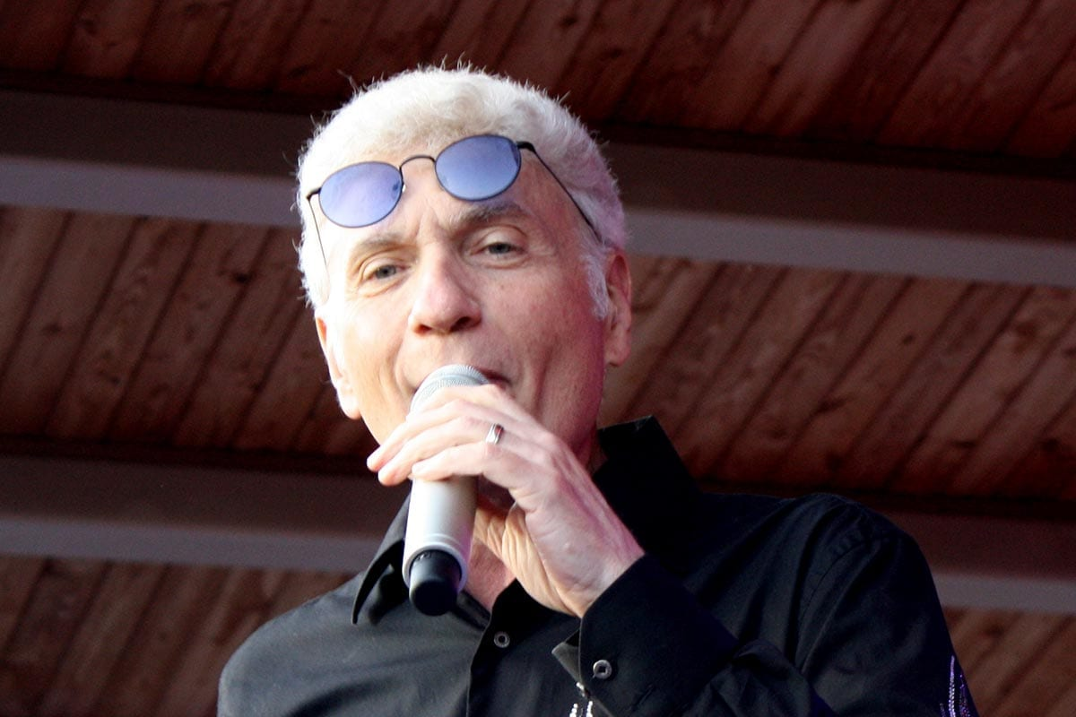 Dennis DeYoung performing in 2010