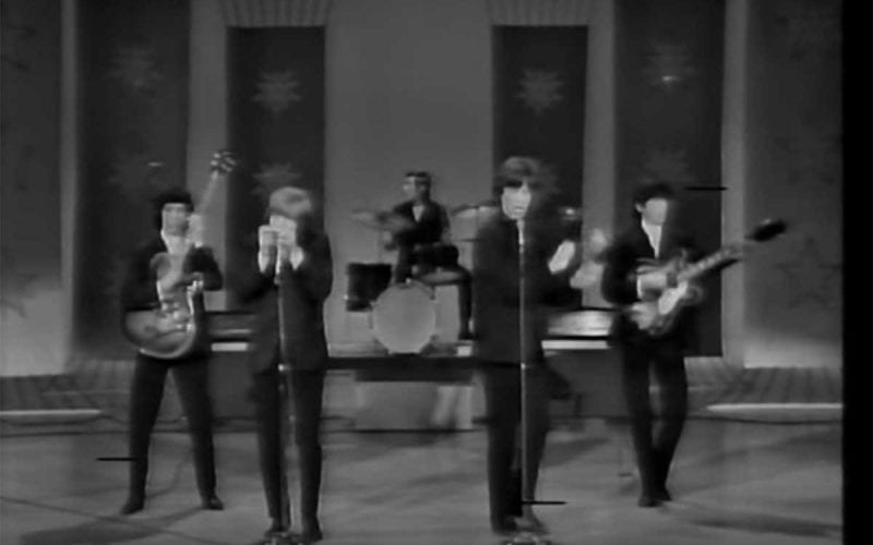 Rolling Stones perform on the Hollywood Palace 1964
