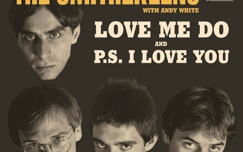 Smithereens Love Me Do 45 rpm vinyl sleeve