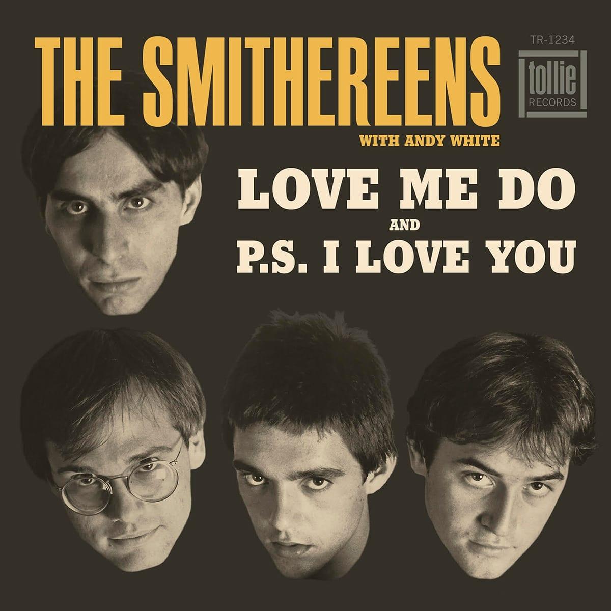 Smithereens Love Me Do 45 rpm vinyl sleeve