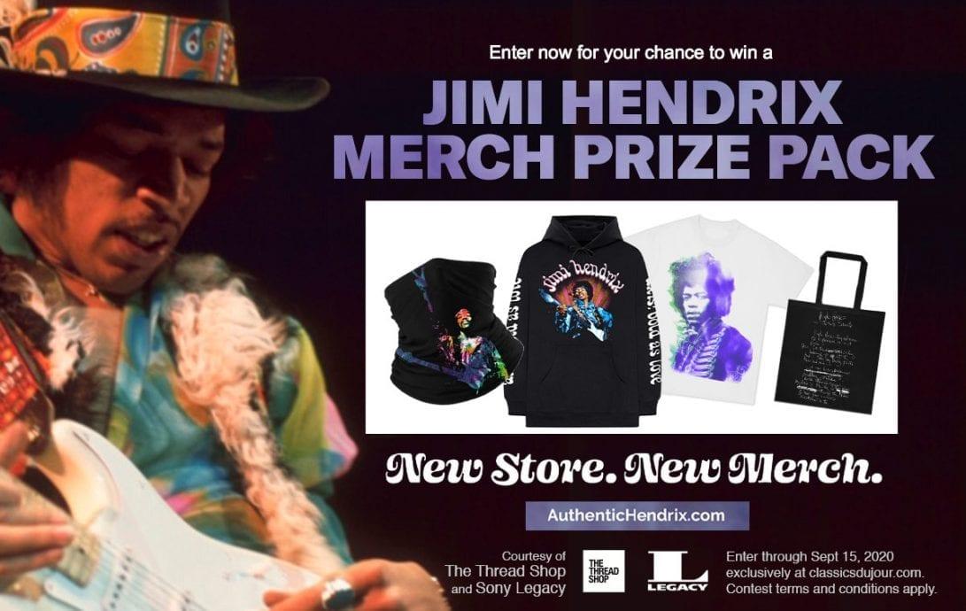 Jimi Hendrix Merch
