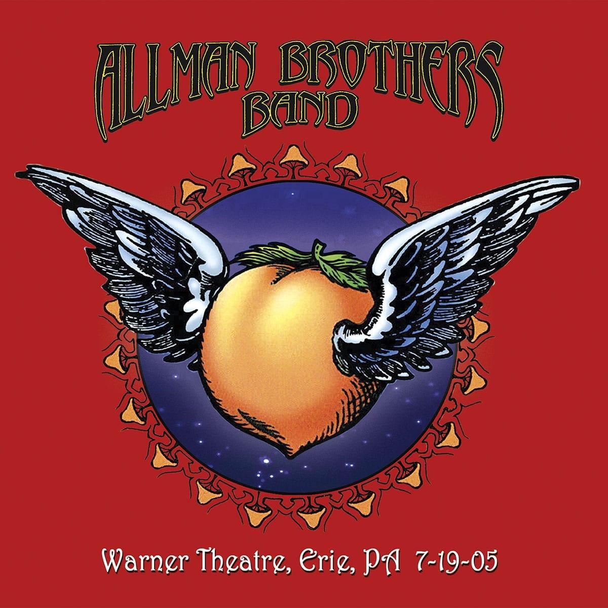 Allman Brothers Band Warner Theatre live album cover