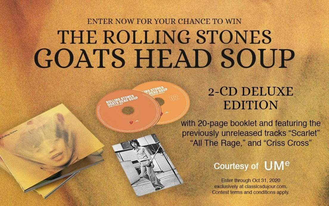 Goats Head Soup sweepstakes