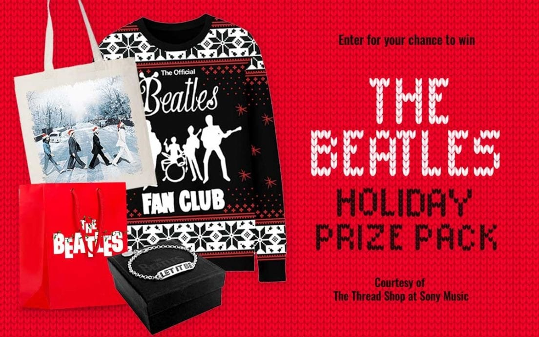 The Beatles Holiday Prize Pack