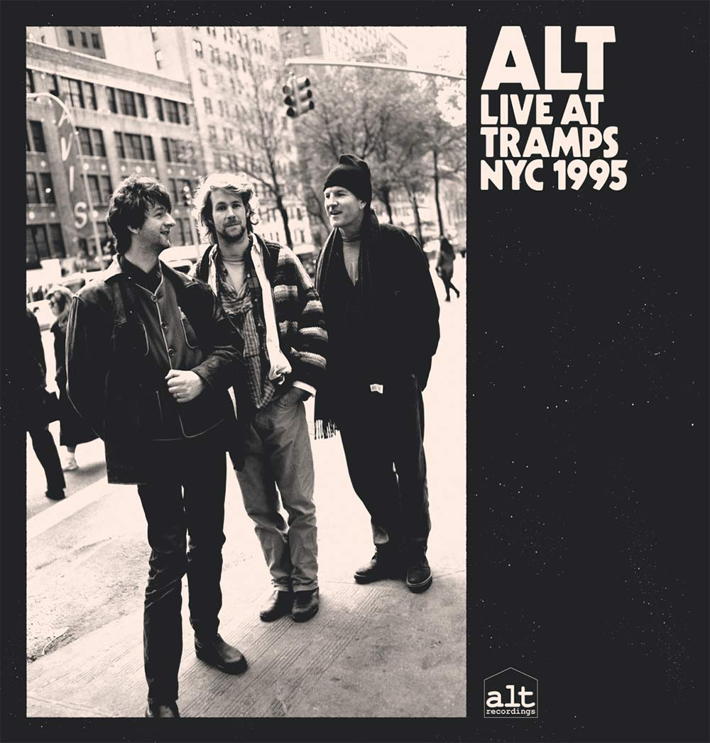 ALT Live at Tramps NYC 1995 album cover