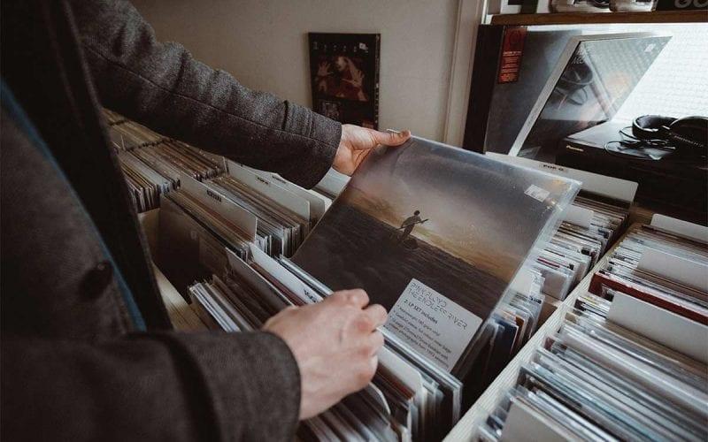 vinyl record shop
