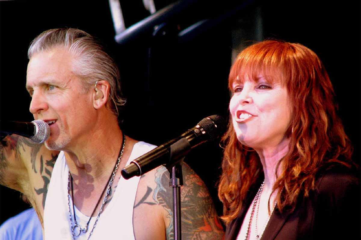 Neil Giraldo and Pat Benatar in 2009