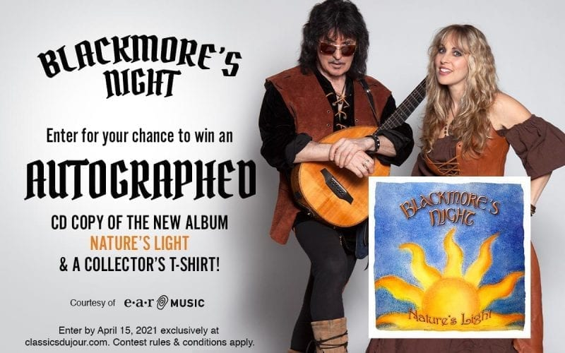 Blackmore's Night contest