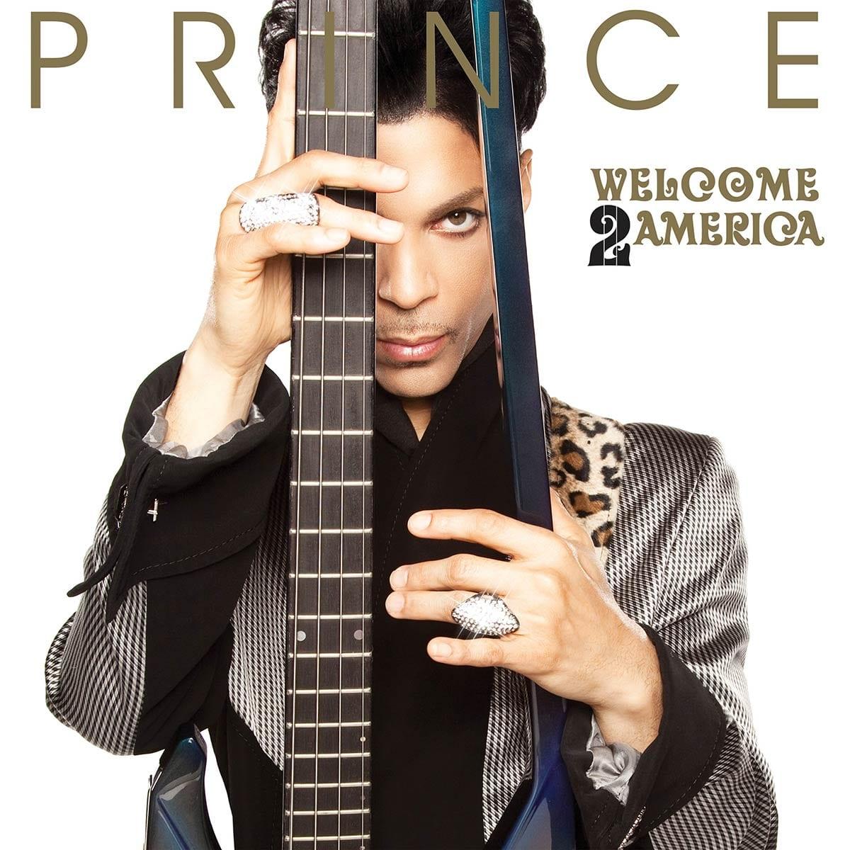 Prince Welcome 2 America album cover