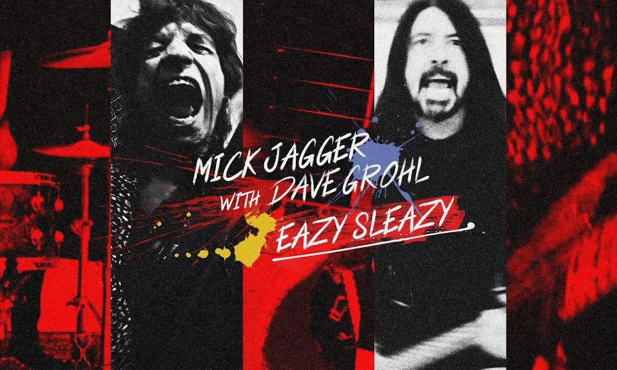 """Mick Jagger & Dave Grohl Team Up on New Song """"Eazy Sleazy"""""""
