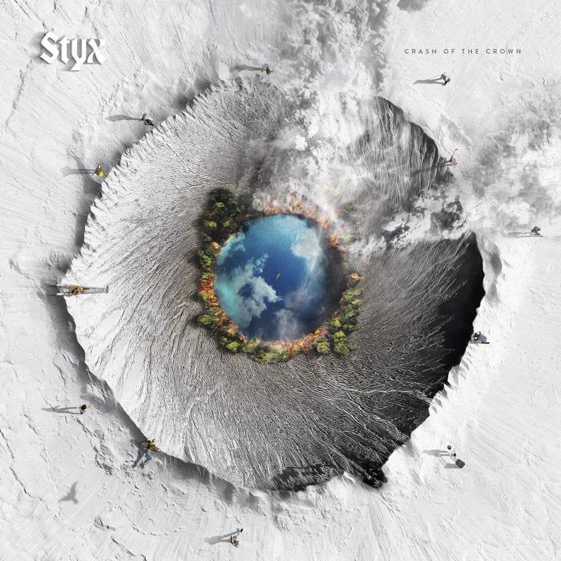 Styx Crash of the Crown album cover