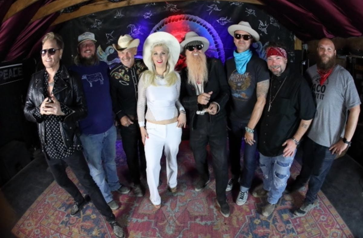 Billy Gibbons My Lucky Card music video cast
