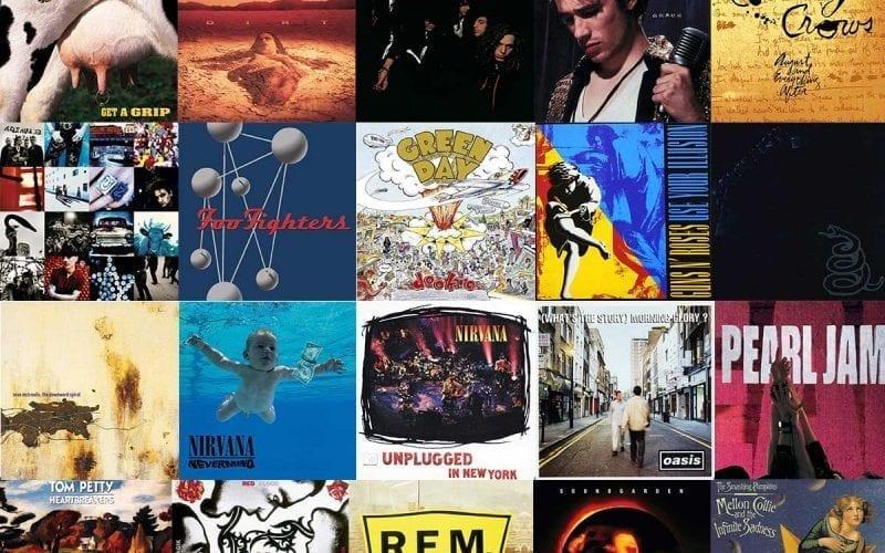 Best 90s rock albums