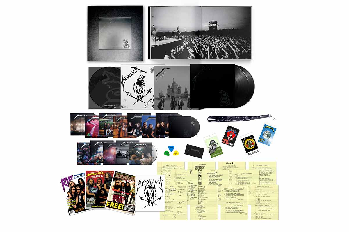 Black Album remastered deluxe box set
