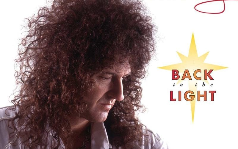 Brian May Back to the Light cover